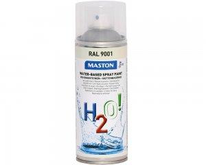 H2O Vattenbaserad Spray - Gräddvit