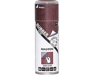 Sprayplast Rubber Comp, Rostfärgad