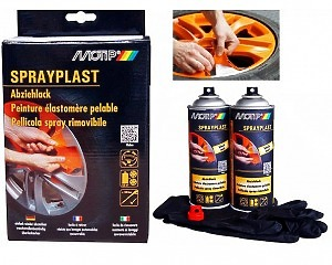 Sprayplast - Folie-film Spray KIT