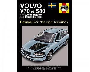 Volvo V70 (00-07) & S80 (98-06) - Reparationshandbok