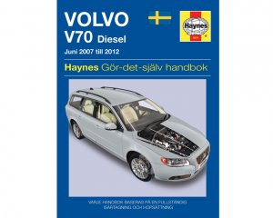 Volvo V70  Diesel (07-12) - Reparationshandbok