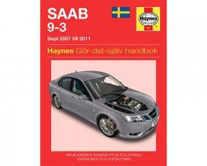 SAAB 9-3 (07 - 11) - Reparationshandbok
