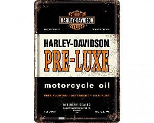 Vykort Harley Davidson - Pre-Loux