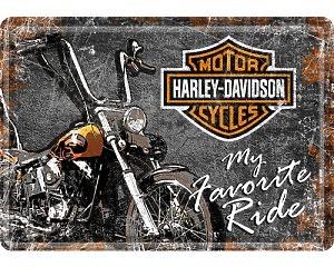 Vykort Harley Davidson - Favorite Ride