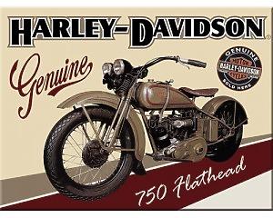 Magnet Harley Davidson - 750 Hothead