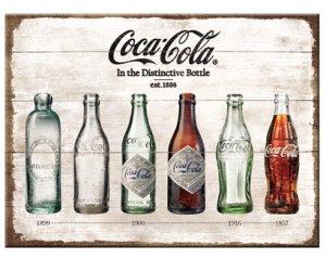 Magnet Coca-Cola Timeline
