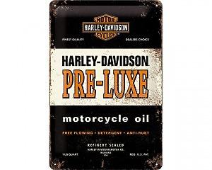 3D Metallskylt Harley-Davidson Pre-Luxe 20x30