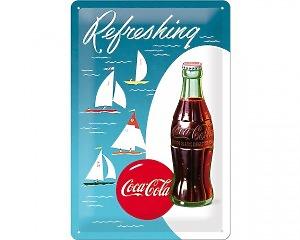 3D Metallskylt Coca Cola - Sail 20x30