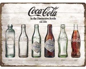 3D Metallskylt Coca Cola - Timeline 30x40