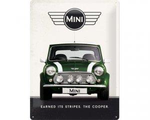 3D Metallskylt Mini - Cooper Green 30x40