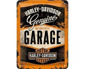 3D Metallskylt Harley-Davidson Garage 15x20