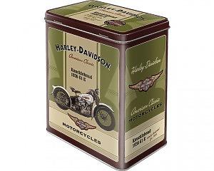 Metallbox Harley Davidson - Knucklehead