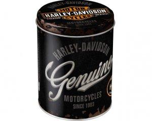 Plåtburk Harley Davidson - Genuine
