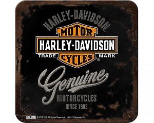 Glasunderlägg Harley-Davidson - Pre Luxe
