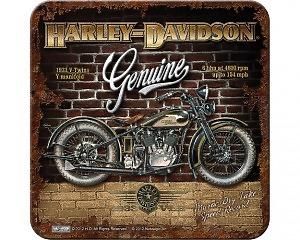 Glasunderlägg Harley-Davidson - Brick Wall