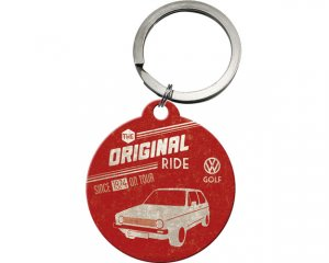 Nyckelring Nostalgi - VW Golf