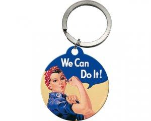 Nyckelring Nostalgi - We Can Do It
