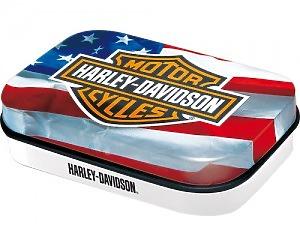 Mintbox Harley Davidson - Usa Flag