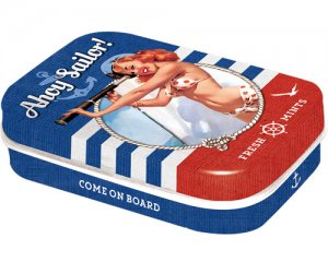 Mintbox Pin up - Ahoy Sailor