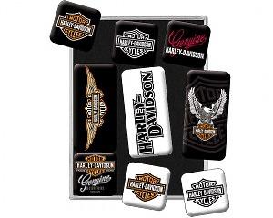 Magnetset Harley Davidson - Logo