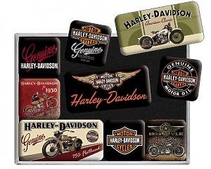 Magnetset Harley Davidson - Bike