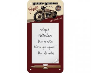 Memo-tavla Harley Davidson - Bike