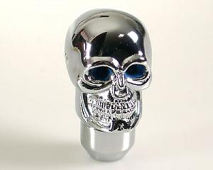 Växelspak Skull-Silver Blue-eye