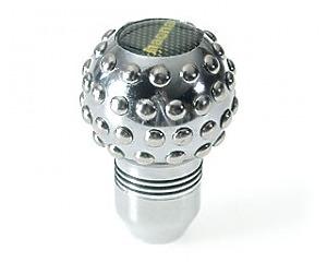 Växelspak Silver-Klot Knobs