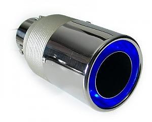 Slutrör Blue LED-Ring