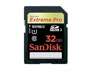 Minneskort SanDisk Secure Digital Extreme PRO 32GB