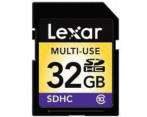 Minneskort Lexar SD-card Class 10 32GB