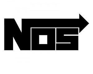 NOS sponsordekal