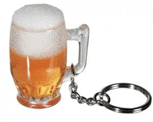 Nyckelring Ölglas Skum