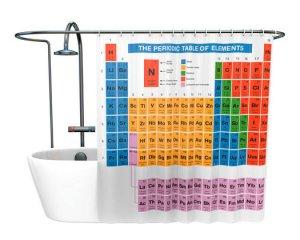 Periodiska systemet - Duschdraperi