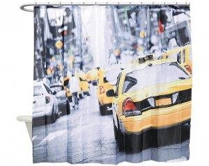 New York Taxi - Duschdraperi