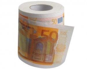 Toapapper 50 Euro-sedel