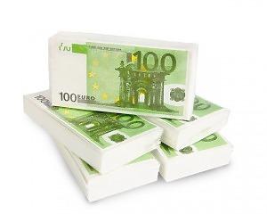 Servett 100-eurosedel