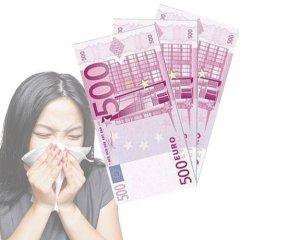Servett 500-eurosedel