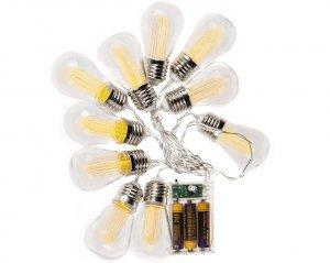 Retro-glödlampor Ljusslinga