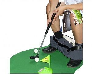 Toalett-Golf Set