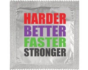 Kondom - Harder Better Faster