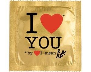 Kondom - I Love You, by love...