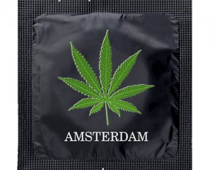 Kondom - Amsterdam Maja Svart