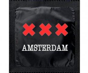Kondom - XXX Amsterdam Svart