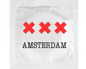 Kondom - XXX Amsterdam Vit