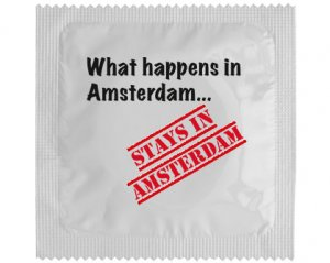 Kondom - What happens in Amsterdam...