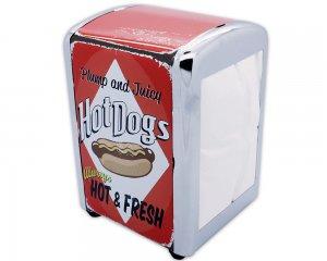 Servetthållare Retro - Hot Dogs