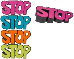 Dörrstoppare Stop
