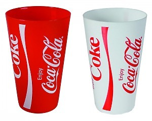 Coca-Cola Plastmugg
