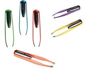 Pincett Färgad med LED